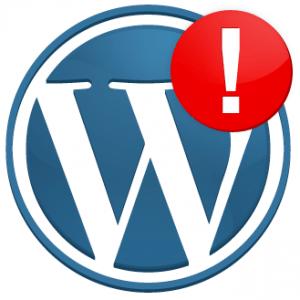 wordpress-fehler