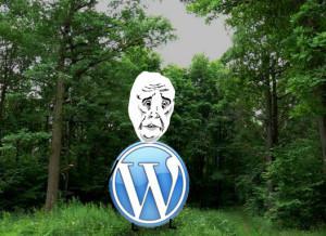 вордпресс в лес