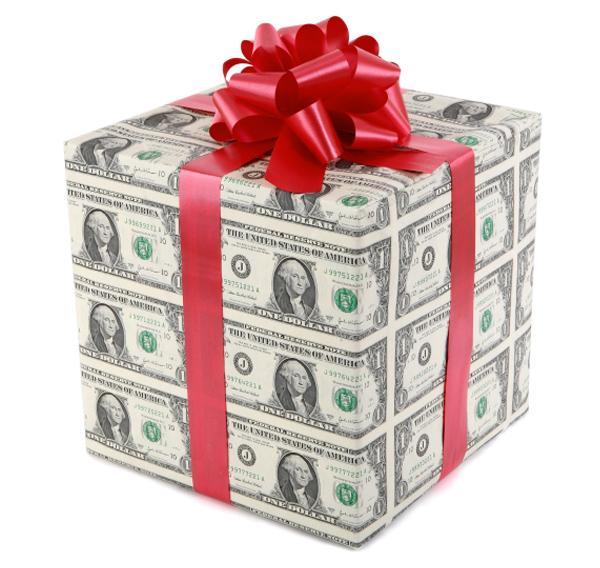 Сборы денег на подарки 650
